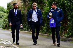 Alex Jakubiak of Bristol Rovers, Gavin Reilly of Bristol Rovers, Michael Kelly of Bristol Rovers arrives at Memorial Stadium prior to kick off  - Mandatory by-line: Ryan Hiscott/JMP - 08/12/2018 - FOOTBALL - Memorial Stadium - Bristol, England - Bristol Rovers v Doncaster Rovers - Sky Bet League One