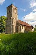 Village parish church of Saint Peter, Elmsett, Suffolk, England, UK