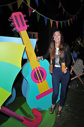 LAURA JACKSON at a party to celebrate the global launch of the Iconic Brazilian lifestyle brand Havaianas Wellies range held at Selfridges, Oxford Street, London on 14th April 2011.