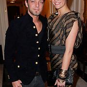 NLD/Amsterdam/20111124 - Beau Monde Awards 2011, Tommie christiaan en partner  Michelle Splietelhof