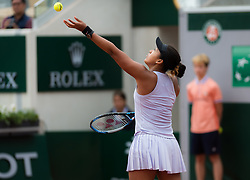 May 30, 2019 - Paris, FRANCE - Naomi Osaka of Japan in action during the second-round at the 2019 Roland Garros Grand Slam tennis tournament (Credit Image: © AFP7 via ZUMA Wire)