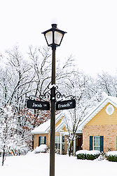 Chilly days ahead at the corner of Francis St. and Jacob Lane