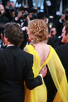 Uma Thurman at Sils Maria gala screening red carpet at the 67th Cannes Film Festival France. Friday 23rd May 2014 in Cannes Film Festival, France.
