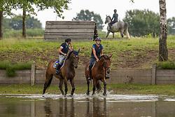 Donckers Karin, Ludique du Couer des Collines, Verwimp Jorinde, Mensa<br /> Eventing meets Dressage<br /> Minderhout 2020<br /> © Hippo Foto - Dirk Caremans<br /> 02/07/2020
