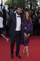 Ramzy Bedia and a guest attending the Closing Ceremony during the 70th annual Cannes Film Festival held at the Palais Des Festivals in Cannes, France on May 28, 2017 as part of the 70th Cannes Film Festival. Photo by Nicolas Genin/ABACAPRESS.COM
