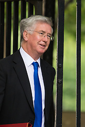Downing Street, London, June 16th 2015. Defence Secretary Michael Fallon arrives at 10 Downing Street for the weekly cabinet meeting.