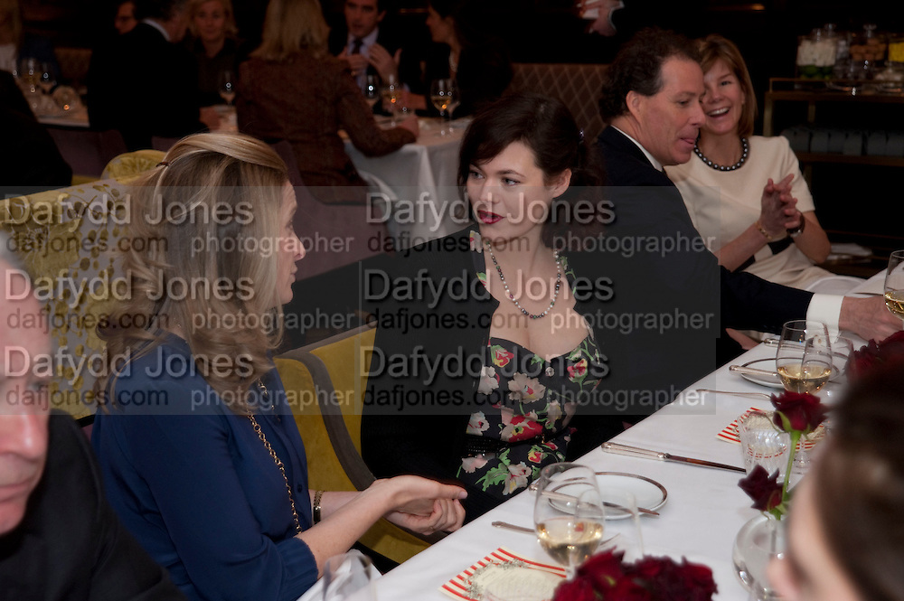 JASMINE GUINNESS, Graydon and Anna Carter host a lunch for Carolina Herrera to celebrate the ipening of her new shop on Mount St. .The Connaught. London. 20 January 2010