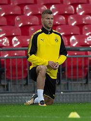Borussia Dortmund player Andriy Yarmolenko uring training