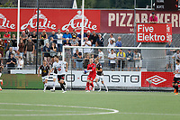 Fotball , 14. juli 2019 , Eliteserien<br /> Mjøndalen - Odd<br /> Julian Faye Lund, Mjøndalen<br /> Foto: Christoffer Hansen , Digitalsport