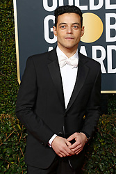 January 6, 2019 - Beverly Hills, Kalifornien, USA - Rami Malek bei der Verleihung der 76. Golden Globe Awards im Beverly Hilton Hotel. Beverly Hills, 06.01.2019 (Credit Image: © Future-Image via ZUMA Press)