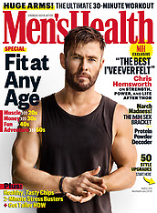 Chris Hemsworth shows off his impressive physique for Men's Health - 30 Jan 2019