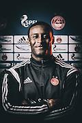 Tuesday 24th February, 2015, Aberdeen, Scotland. AFC Programme<br /> Pictured: Donervorn Daniels<br /> <br /> (Photo: Ross Johnston/Newsline Media)