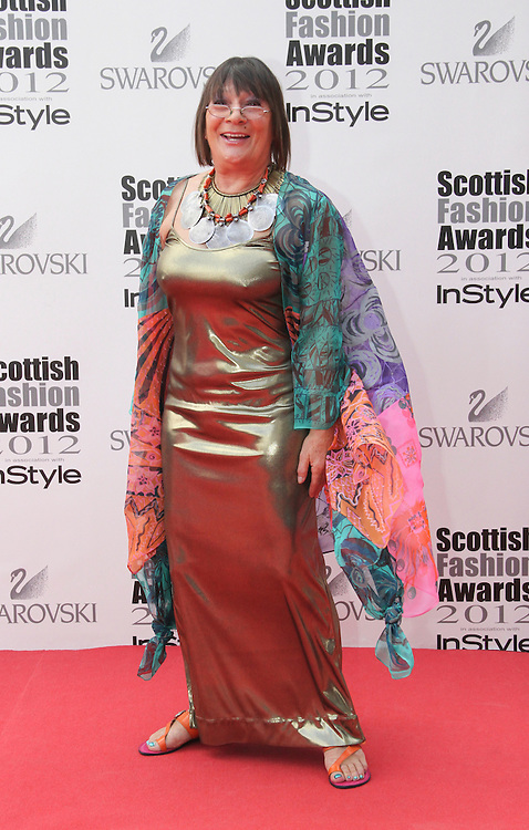 Hilary Alexander attends the Scottish Fashion Awards, Glasgow, UK. 12/06/2012 Vito Andreoni/CatchlightMedia