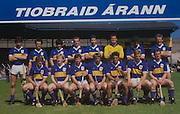 All Ireland Senior Hurling Championship Final, .04.09.1988. 09.04.1988, 4th September 1988,.4091988AISHCF,.Galway 1-15, Tipperary 0-14,.Galway v Tipperary, ..TIpperary, 1 Ken Hogan, Lorrha, 2 John Heffernan, Nenagh, Conor O'Donovan, Nenagh, 4 Paul Delaney, Roscrea, 5 Bobby Ryan, Borrisoleigh, 6 NOel Sheehy, Silvermines, 7 John Kennedy, Clonoulty Rossmore, 8 Colm Bonnar, Cashel, 9 Joe Hayes, Clonoulty Rossmore, 10 Declan Ryan, Clonoulty, Rossmore, 11 Donie O'Connell, Killenaule, 12 John Leahy, Mullinaone, Pat Fox, Eire Og, Annacarty, Nicholas English, Lattin Cullen, Aidan Ryan, Borrisoleigh, subs, John Leamy, Golden Kilfeacle, Pat O'Neill, Richard Stakelum, Borrisoleigh, Seamus Gibson, Kilruane, Cormac Bonnar, Cashel, Michael Cleary, Eire Og, Nenagh, .Kebabylonm