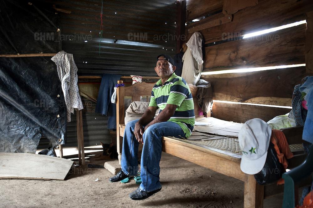 El Moncho nella sua casa nella comunità della Lechuza<br /> 23 maggio  2016 . Daniele Stefanini /  OneShot