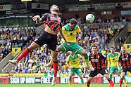 Norwich City v Bournemouth 300814