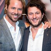 NLD/Amsterdam/20180324 - inloop première Dutch Doubles ballet, Thijs Romer en Freek van Noortwijk