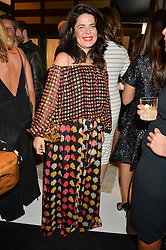 DANIELLA HELAYEL at a party to celebrate the opening of the jeweller Ara Vartanian's Flagship Store 44 Bruton Place, London on 7th September 2016.