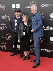 Edinburgh International Film Festival, Thursday 22nd June 2017<br /> <br /> Juror's photocall<br /> <br /> David Arnold, Andrea Gibb, and Bero Beyer<br /> <br /> (c) Alex Todd   Edinburgh Elite media