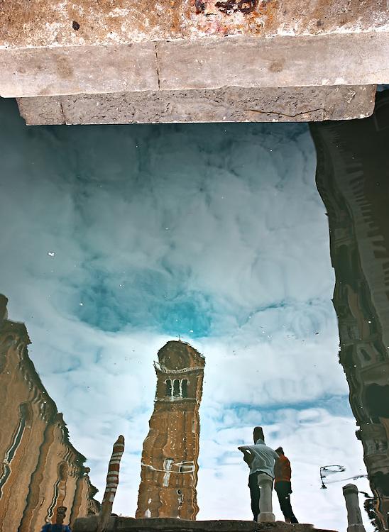 Italy - Venezia - Santa Maria church reflection