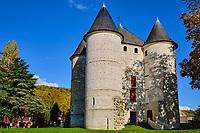 France, Eure (27), Vernon, Château des Tourelles // France, Eure (27), Vernon, Château des Tourelles