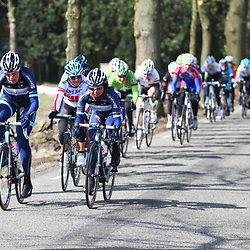 Energiewachttour Stage 2 Pekela-Veendam Mieke Kroger and Anouska Koster (Team Futurumshop.nl)