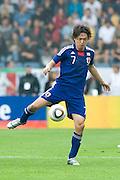 Yasuhito Endo (Japan), May 30, 2010 - Football : World Cup South Africa 2010 test match ,  match between Japan 1-2 England  at Libenau stadium, Graz, Austria, (Photo by Enrico Calderoni/AFLO SPORT) [0391]