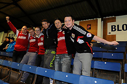 Bristol City fans - Photo mandatory by-line: Dougie Allward/JMP - Mobile: 07966 386802 11/03/2014 - SPORT - FOOTBALL - Peterborough - London Road Stadium - Peterborough United v Bristol City - Sky Bet League One