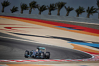 HAMILTON Lewis (Gbr) Mercedes Gp Mgp W05 Action during the 2014 Formula One World Championship, Grand Prix of Bahrain on April 6, 2014 in Sakhir, Bahrain. Photo François Flamand / DPPI