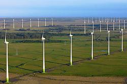 O parque eólico de Osório é composto por 75 torres de aerogeradores de 98 metros de altura e 810 toneladas de peso cada uma, podendo ser vistas da auto-estrada BR-290 (Free-Way) e RS-30. Tem uma capacidade instalada estimada em 150 MW (energia capaz de atender uma cidade de 700 mil habitantes), sendo a maior usina eólica da América Latina. FOTO: Itamar Aguiar/Preview.com O Parque Eólico de Osório é composto por 75 torres de aerogeradores de 98 metros de altura e 810 toneladas de peso cada uma, podendo ser vistas da auto-estrada BR-290 (Free-Way) e RS-30. Tem uma capacidade instalada estimada em 150 MW (energia capaz de atender uma cidade de 700 mil habitantes), sendo a maior usina eólica da América Latina. FOTO: Jefferson Bernardes/ Agência Preview