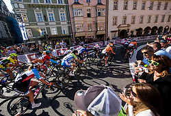 Polona Batagelj of Slovenia in Innsbruck's centre during the Women's Elite Road Race a 156.2km race from Kufstein to Innsbruck 582m at the 91st UCI Road World Championships 2018 / RR / RWC / on September 29, 2018 in Innsbruck, Austria. Photo by Vid Ponikvar / Sportida