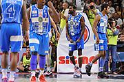 DESCRIZIONE : Campionato 2014/15 Serie A Beko Dinamo Banco di Sardegna Sassari - Grissin Bon Reggio Emilia Finale Playoff Gara6<br /> GIOCATORE : Shane Lawal<br /> CATEGORIA : Ritratto Esultanza<br /> SQUADRA : Dinamo Banco di Sardegna Sassari<br /> EVENTO : LegaBasket Serie A Beko 2014/2015<br /> GARA : Dinamo Banco di Sardegna Sassari - Grissin Bon Reggio Emilia Finale Playoff Gara6<br /> DATA : 24/06/2015<br /> SPORT : Pallacanestro <br /> AUTORE : Agenzia Ciamillo-Castoria/C.Atzori
