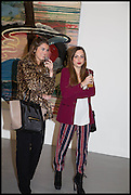 BEATRICE SALSANO; MARIA VICTORIA RAIOLA; , Frank Cohen and Nicolai Frahm host Julian Schnabel's 'Every Angel has a Dark Side,' private view and party. IN AID OF CHICKENSHED. Dairy Art Centre, 7a Wakefield Street, London. 24 APRIL 2014