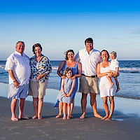 Ware Family at Garden City Point, SC