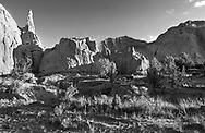 Rock Forms in early morning light at Kodachrome Basin State Park, Utah, USA