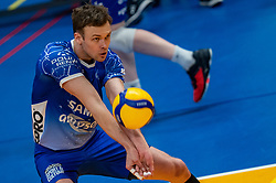 Thomas Douglas Powell of Lycurgus in action during the second final league match between Amysoft Lycurgus vs. Draisma Dynamo on April 24, 2021 in Groningen.