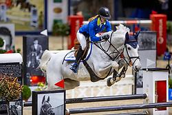 RUESEN Angelique (GER), Arac du Seigneur Z<br /> Grand Prix von Volkswagen<br /> Int. jumping competition over two rounds (1.55 m) - CSI3*<br /> Comp. counts for the LONGINES Rankings<br /> Braunschweig - Classico 2020<br /> 08. März 2020<br /> © www.sportfotos-lafrentz.de/Stefan Lafrentz