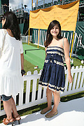 Lauren Mills, The Veuve Clicquot Gold Cup 2007. Cowdray Park, Midhurst. 22 July 2007.  -DO NOT ARCHIVE-© Copyright Photograph by Dafydd Jones. 248 Clapham Rd. London SW9 0PZ. Tel 0207 820 0771. www.dafjones.com.