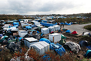 France , Calais, camp for refugees known as 'The Jungle'. November 2015.