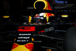April 7, 2018 - Sakhir, Bahrain - action during 2018 Formula 1 FIA world championship, Bahrain Grand Prix, at Sakhir from April 5 to 8  I  Motorsports: FIA Formula One World Championship 2018, Grand Prix of Bahrain,#3 Daniel Ricciardo (AUS, Red Bull Racing) (Credit Image: © Hoch Zwei via ZUMA Wire)