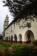 Arcos de la Parroquia de San Pedro Zacatlan.