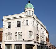Historic building on St John's Street, Boots Corner, Devizes, Wiltshire, England, UK 1912