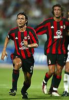 Ancona 12/08/2003<br />Trofeo Tim - Tim Cup <br />Filippo Inzaghi Milan