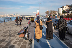 Walkway Along Bosphorus, Uskadar