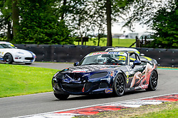 Martin Tolley pictured while competing in the BRSCC Mazda MX-5 SuperCup Championship. Picture taken at Cadwell Park on August 1 & 2, 2020 by BRSCC photographer Jonathan Elsey