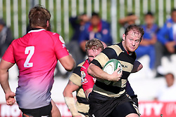 Christopher Bosch of Boland on the attack during the Currie Cup premier division match between the Boland Cavaliers and The Pumas held at Boland Stadium, Wellington, South Africa on the 2nd September 2016<br /> <br /> Photo by:   Shaun Roy/ Real Time Images