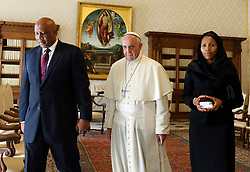 Oct 7, 2013 - Vatican City State (Holy See) - POPE FRANCIS meets King LETSI III of Lesotho, southern Africa, at the Vatican. (Credit Image: © Evandro Inetti/ZUMAPRESS.com)