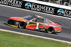 July 21, 2018 - Loudon, NH, U.S. - LOUDON, NH - JULY 21: Jamie McMurray, driver of the #1 DC McDonalds Chevy during practice for the Monster Energy Cup Series Foxwoods Resort Casino 301 race on July, 21, 2018, at New Hampshire Motor Speedway in Loudon, NH. (Photo by Malcolm Hope/Icon Sportswire) (Credit Image: © Malcolm Hope/Icon SMI via ZUMA Press)