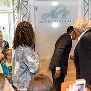 NLD/Almere/20170628 - Opening Ali B. muziek Kids Studio in Almere,