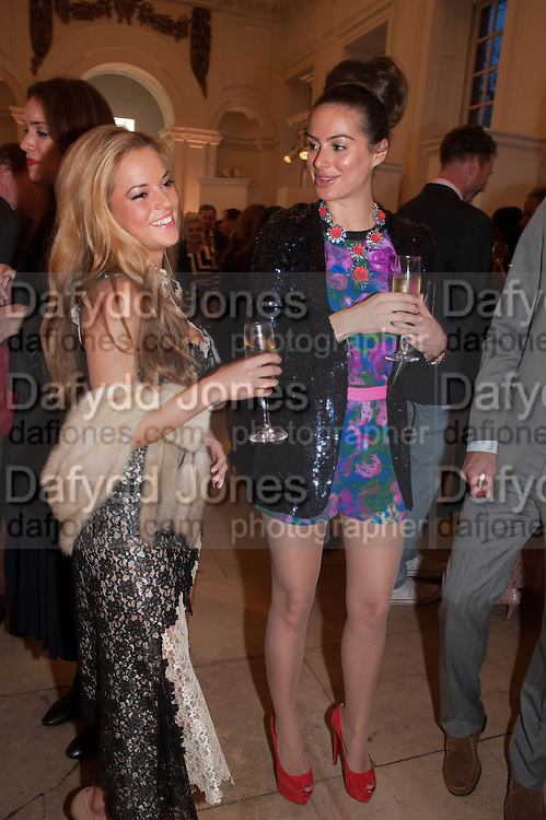 NATALIE JOEL; SASKIA BOXFORD, Cartier Tank Anglaise launch. Kensington Palace Orangery, London.  19 April 2012.